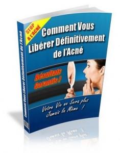 livre pour se libérer définitivement del'acné