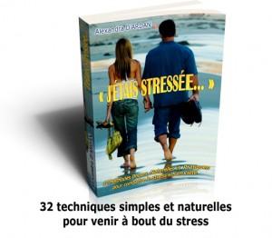 livre j'étais stressée