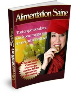 alimentation saine pdf