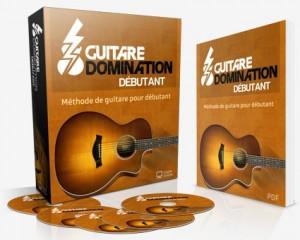 école en ligne guitare domination debutant